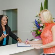 Reception consulting #2 at justSMILE in Ramsgate Sydney NSW